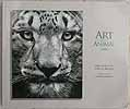 The Cover of the 2009 Society of Animal Artists Exhibition catalog featured Cathy's scratchboard art